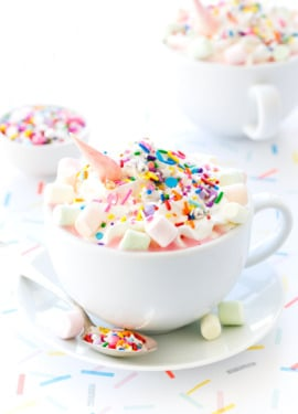 Unicorn Hot Chocolate