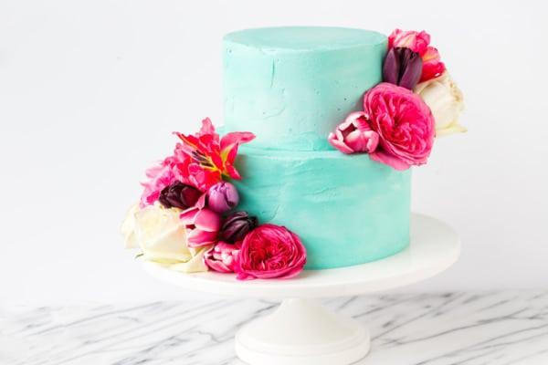 Cinnamon Swirl Layer Cake