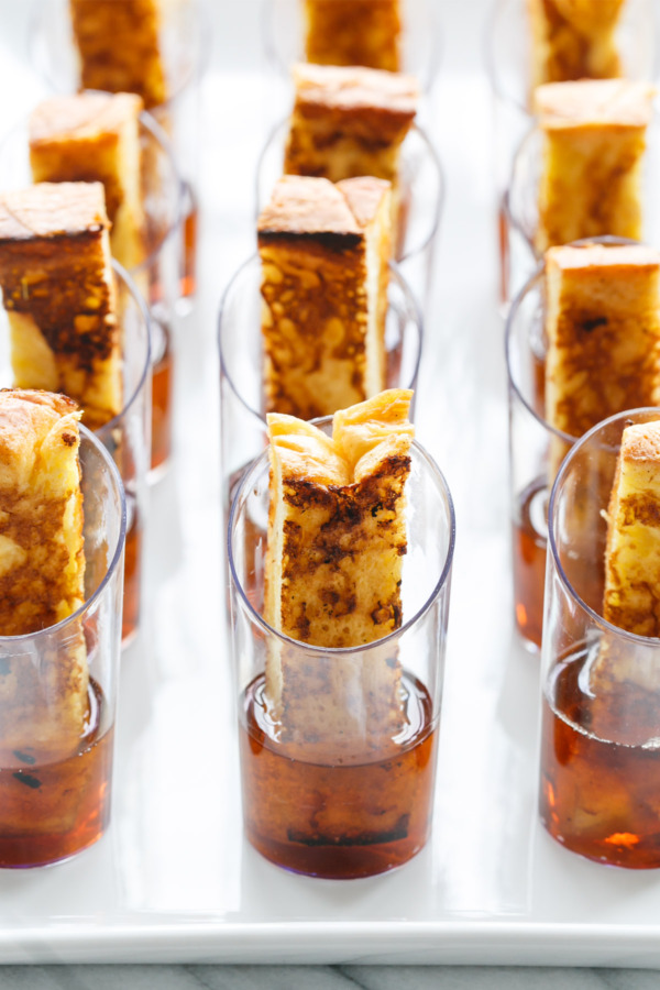 French Toast & Maple Syrup Shots
