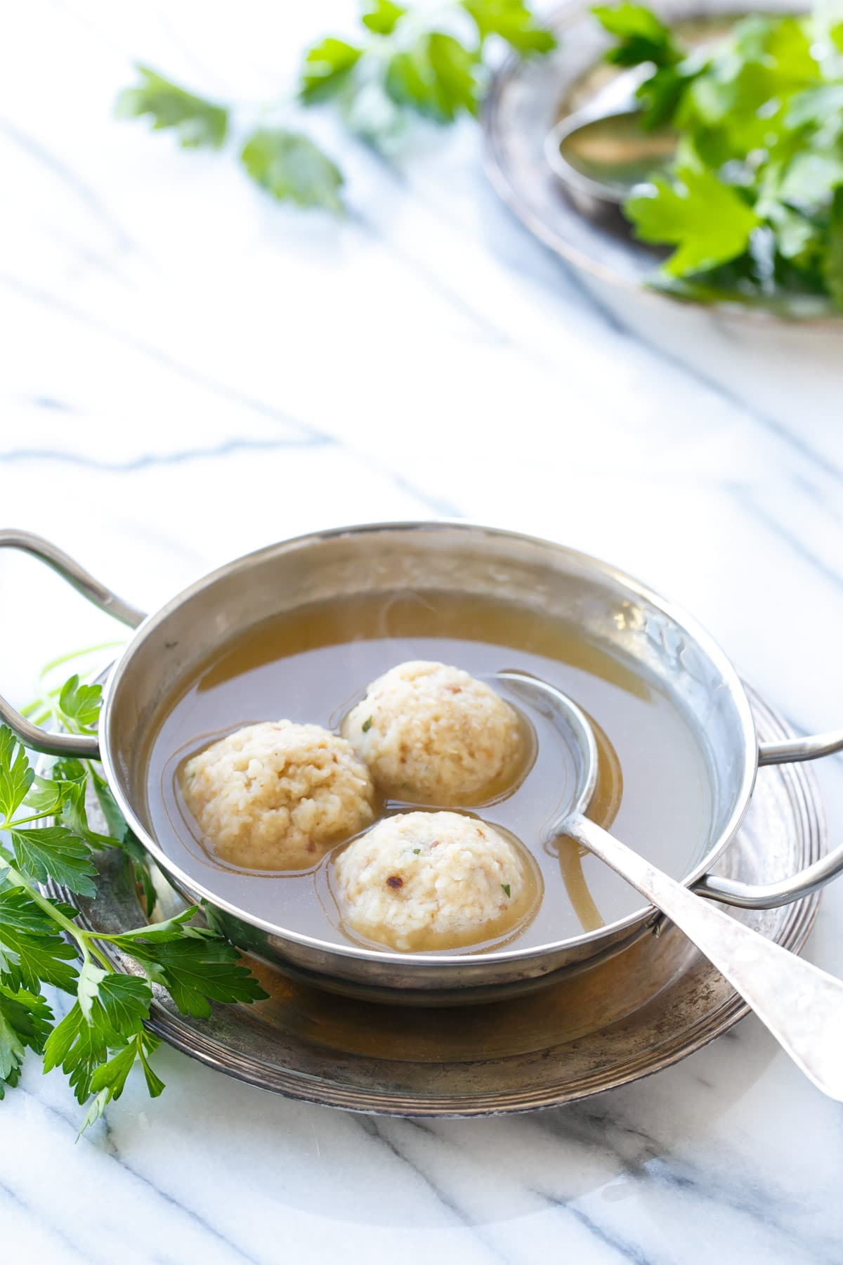 Traditional Matzo Ball Soup Recipe for Passover