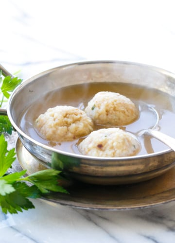 Grandma's Matzo Ball Soup Recipe