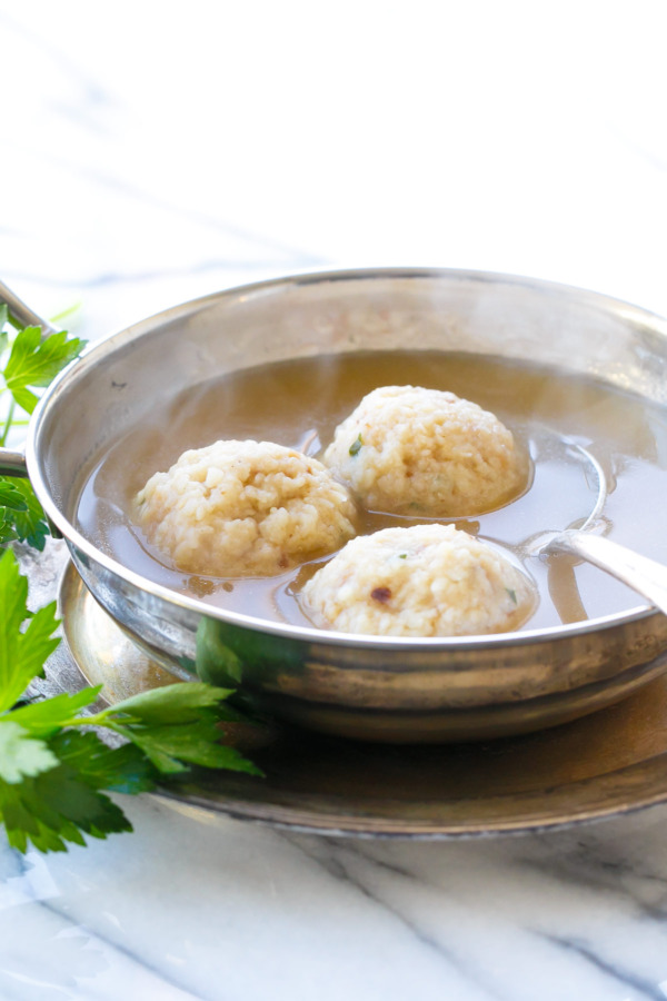 Grandma's Matzo Ball Soup | Love and Olive Oil