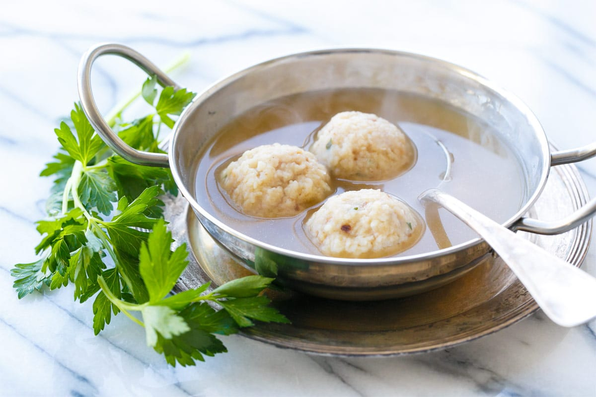 Grandma's Matzo Ball Soup