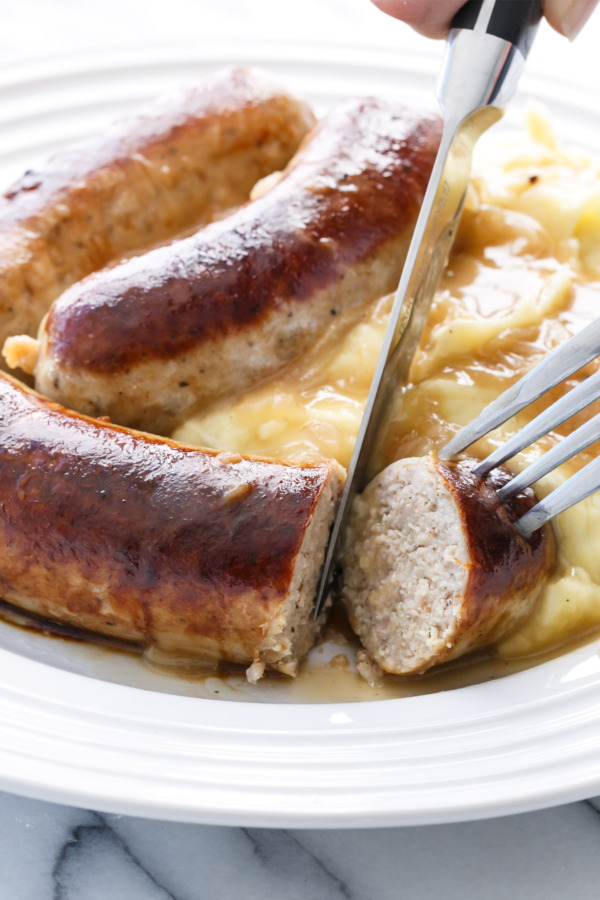 How to Make Chicken Sausages from Scratch for Bangers 'n Mash