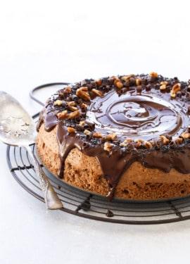 Cocoa Pecan Torte Recipe - Kosher for Passover