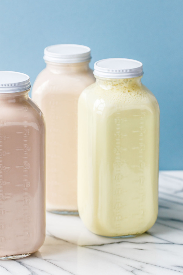How to Make Homemade Nut Milks - 3 Variations