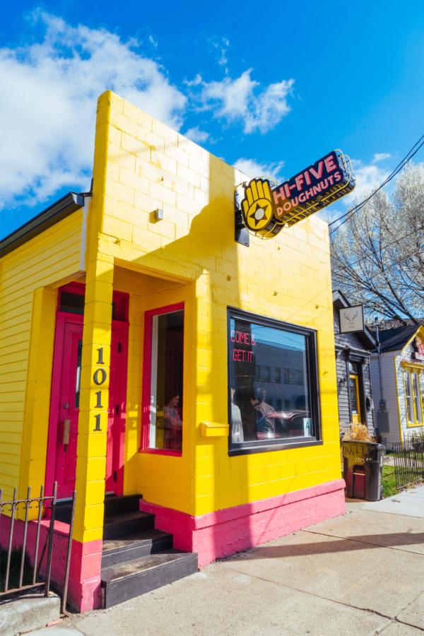 Louisville's HiFive Doughnuts
