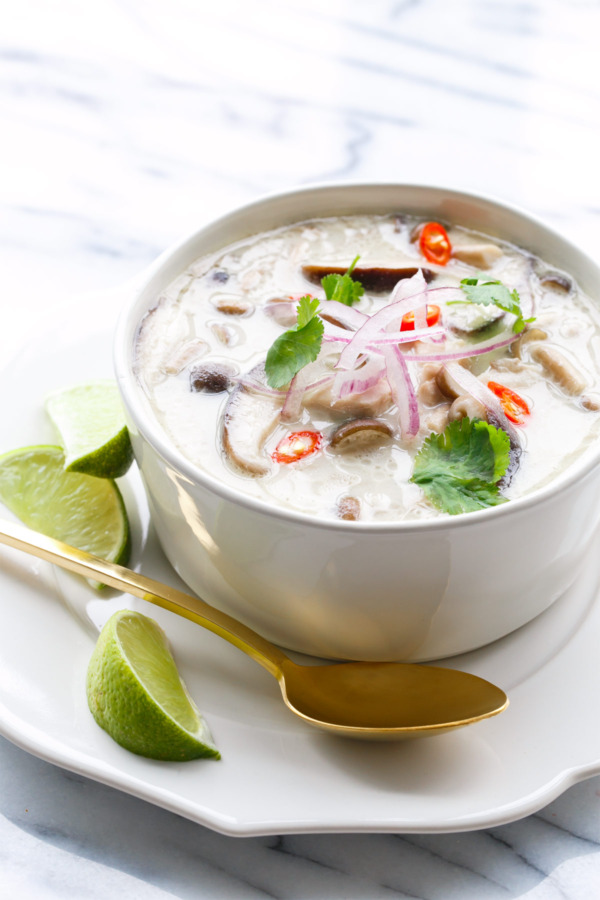 Authentic Tom Kha Gai Recipe - Made in a slow cooker!