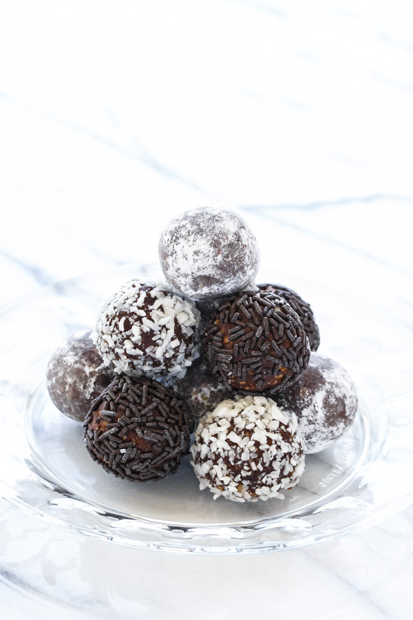 Recipe for Bourbon Balls, just like Grandma used to make!