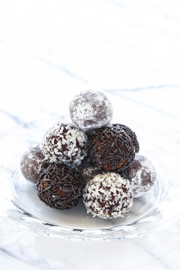 Recipe for Bourbon Balls, just like Grandma used to make!