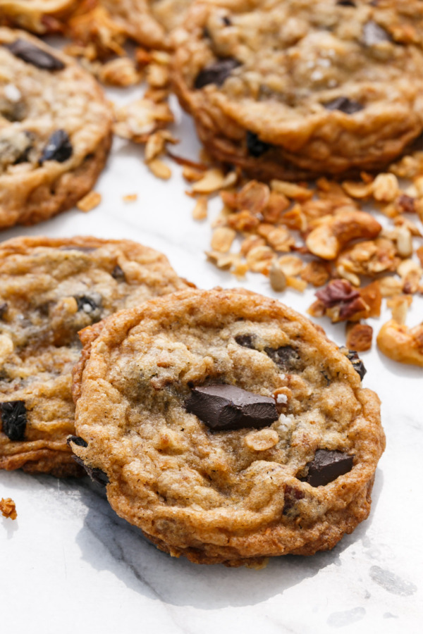 Chewy Granola Chocolate Chip Cookie Recipe