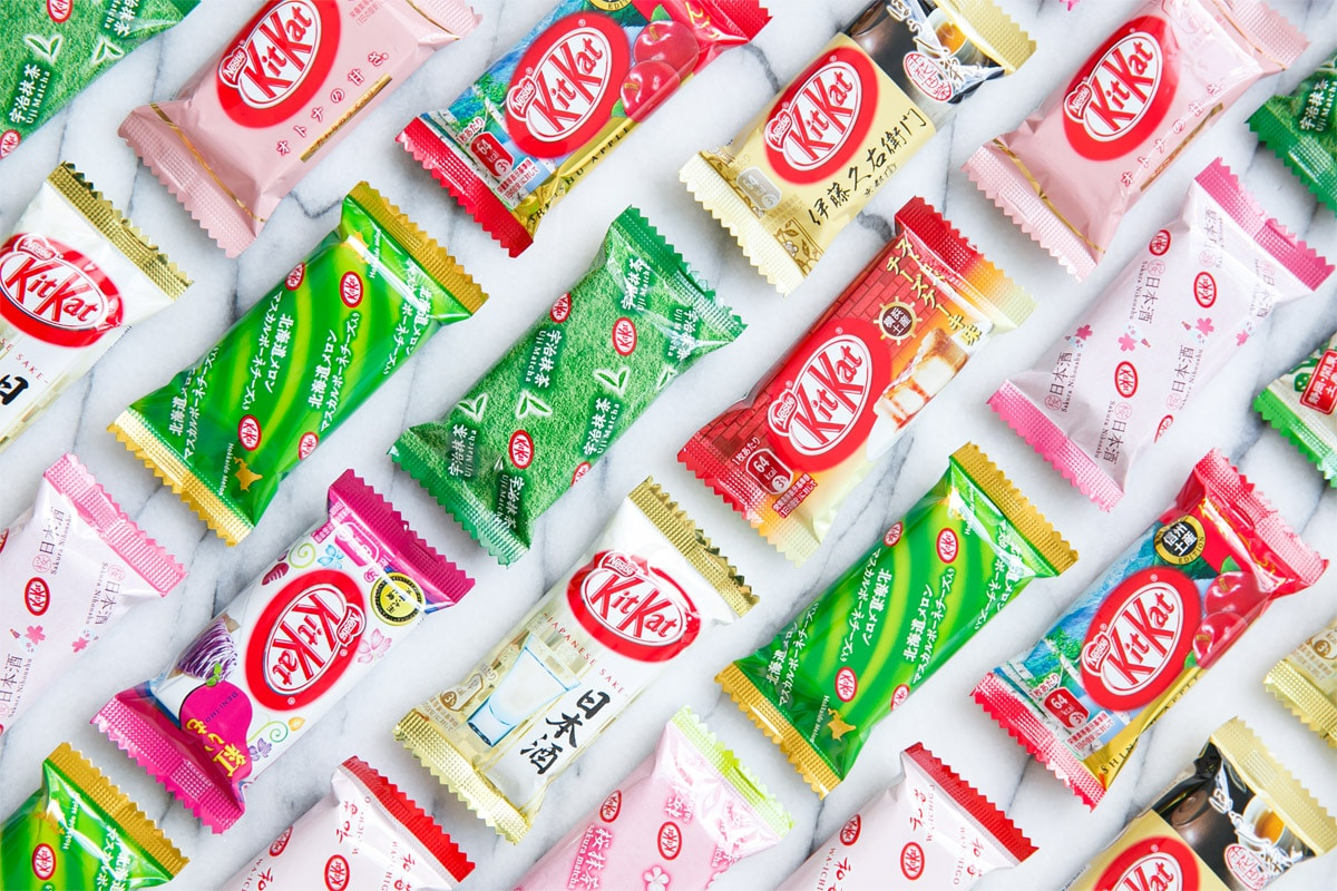 2772fcf13c Crazy Japanese Kit Kat Flavors (and where to find them) | Love and ...