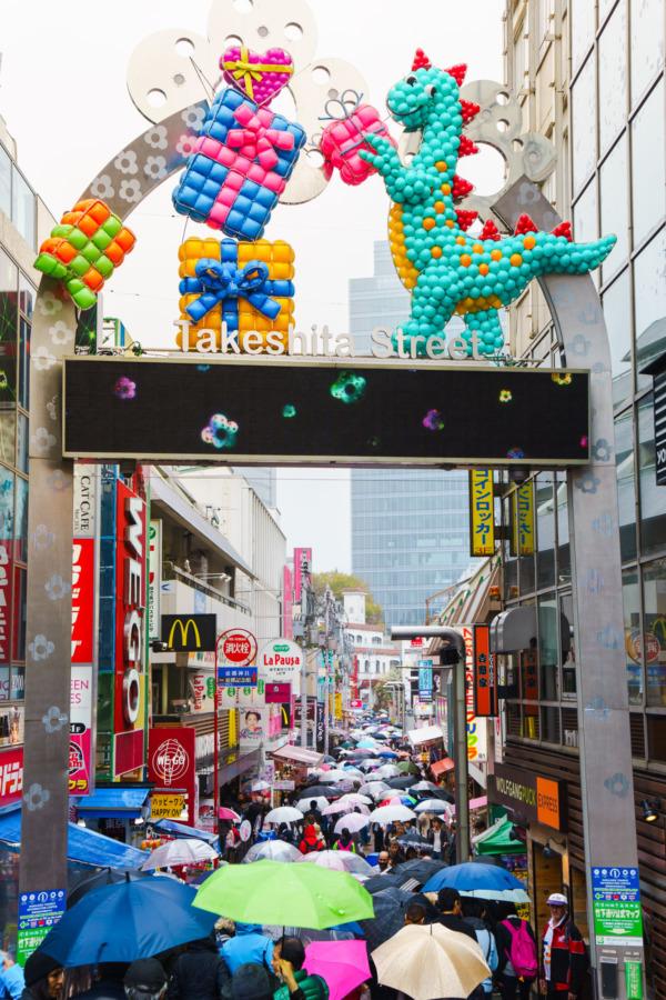 Takashita Street, Harajuku, Tokyo, Japan