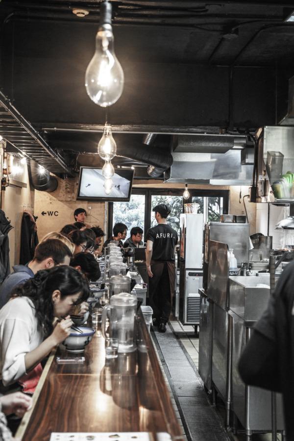 Afuri Ramen, Tokyo, Japan