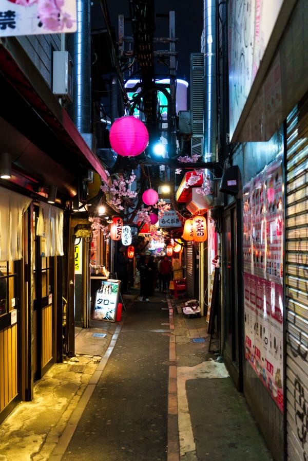 """""""Piss Alley"""" Shinjuku, Tokyo, Japan"""