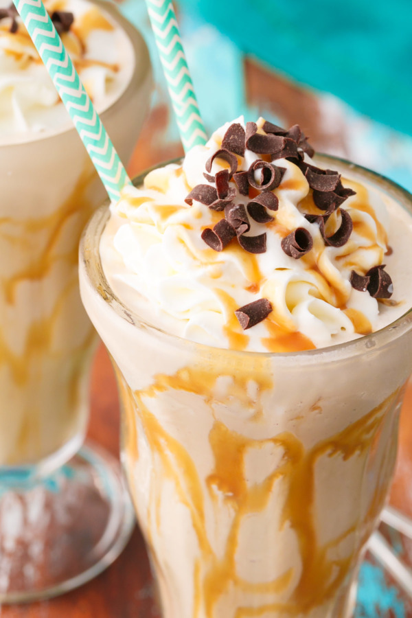 Cold Brew Caramel Coffee Milkshake Recipe