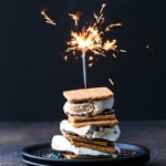 4th of July Firecracker Smores with Pop Rocks popping candy!