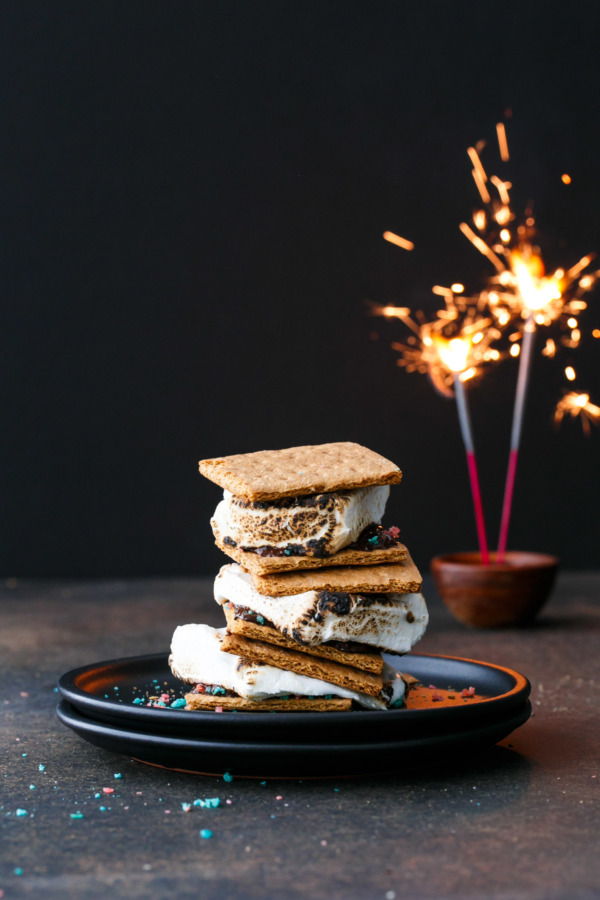 Firecracker S'Mores Recipe for the 4th of July