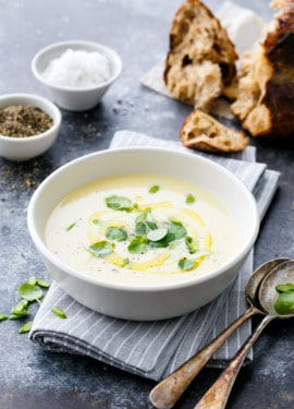 Chez Panisse Green Garlic Soup Recipe