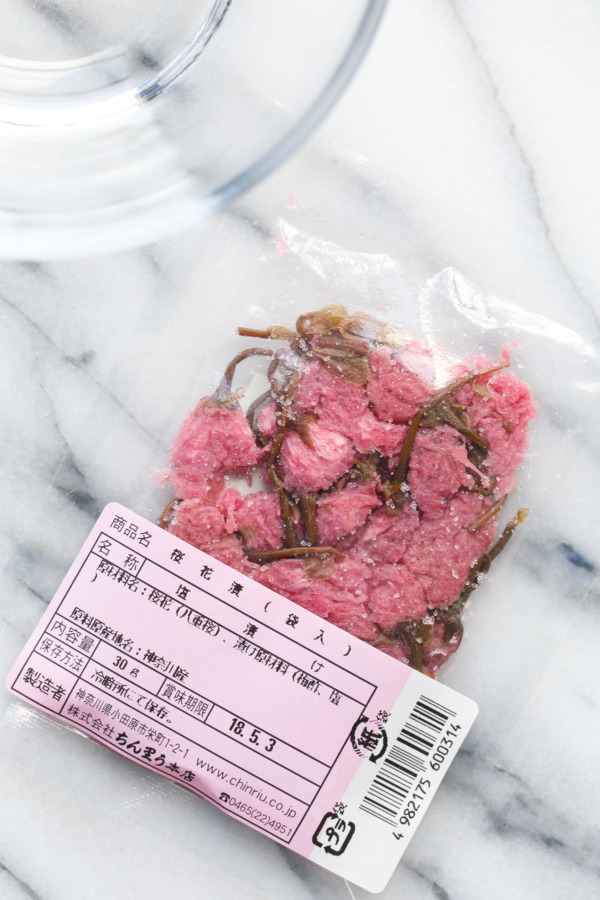 Pickled & Salted Preserved Japanese Sakura Blossoms