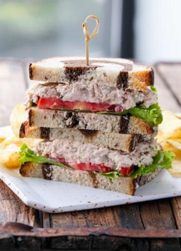 Easy Tuna Salad Sandwich Recipe - our favorite!