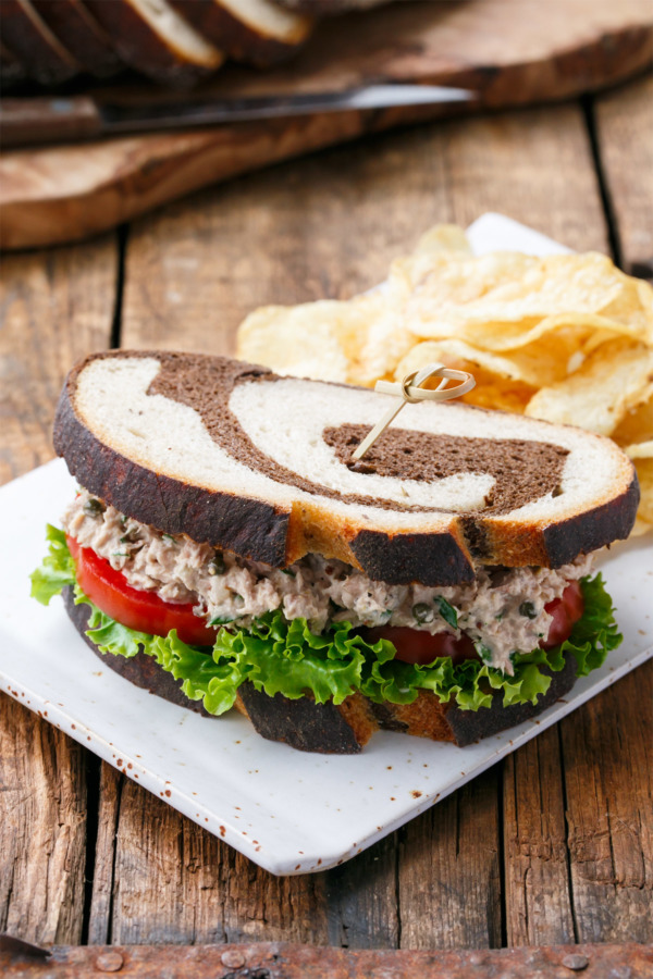 Taylor's Best Tuna Salad Sandwich | Love and Olive Oil