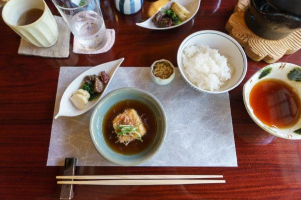 Shoraian Tofu restaurant, Kyoto Japan