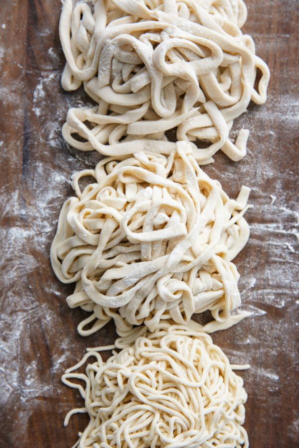 Homemade Udon Noodles | Love and Olive Oil