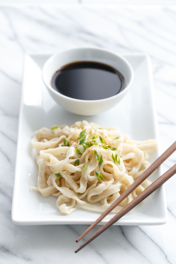 Handmade Udon Noodles Recipe — Dishmaps