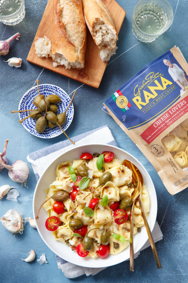 Tortelloni with Anchovies & Capers w/ Giovanna Rana