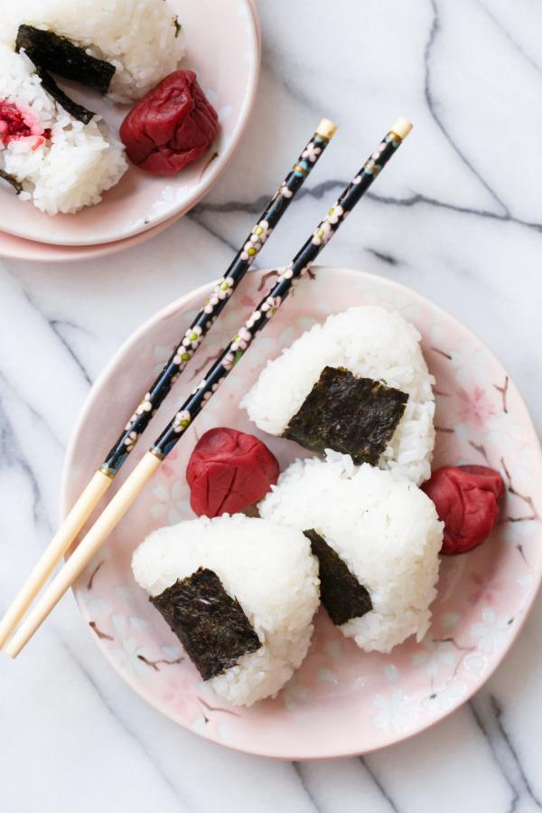 Japenese Umeboshi (Salted Plum) Onigiri Recipe