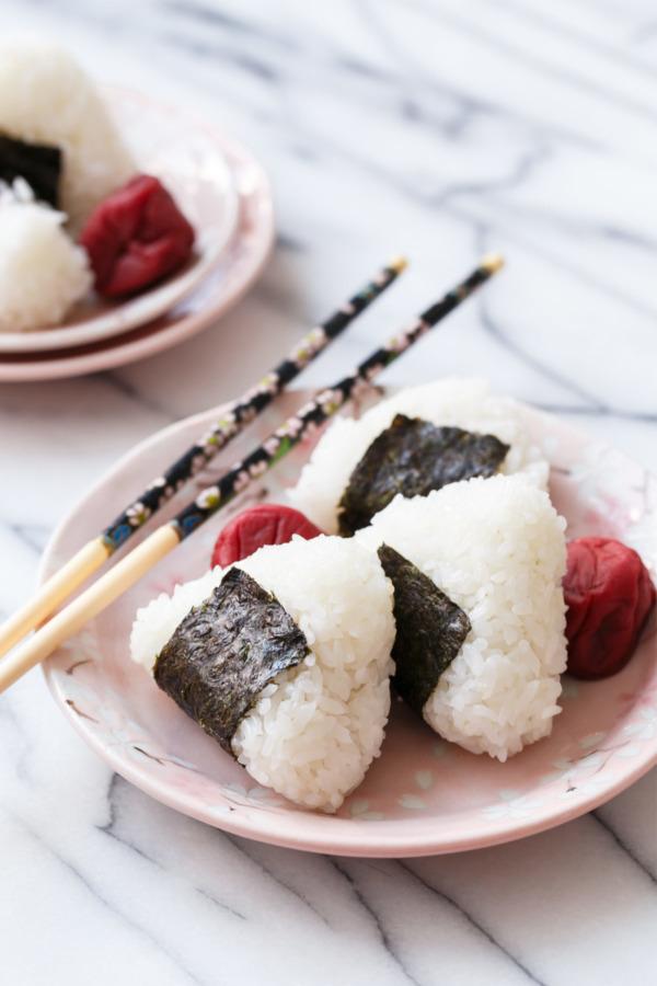 Umeboshi Onigiri Recipe