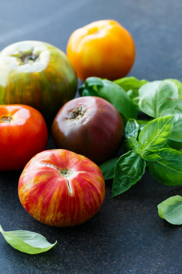 Heirloom Tomato Recipes: Start here!