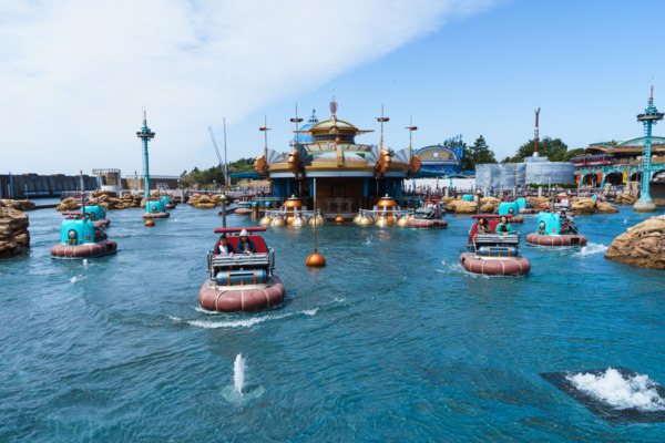 Tokyo Disney Sea: Aquatopia ride in Port Discovery
