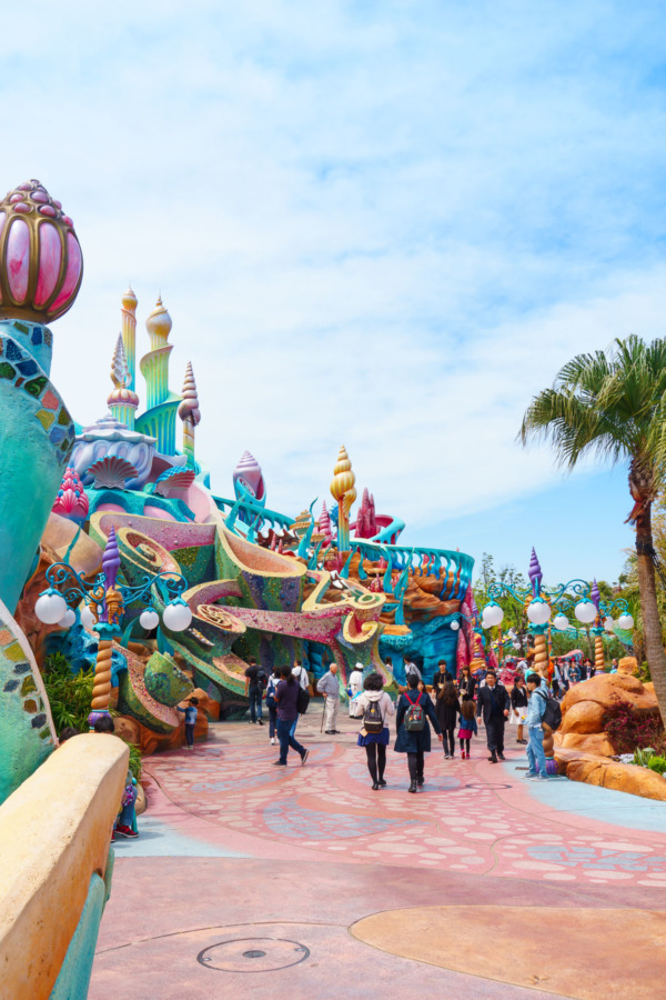Tokyo Disney Sea: Mermaid Lagoon