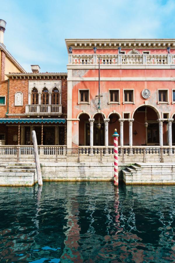 Tokyo Disney Sea: Venetian Canals at Mediterranean Harbor