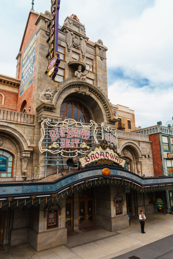 Tokyo Disney Sea: Big Band Beat at American Waterfront