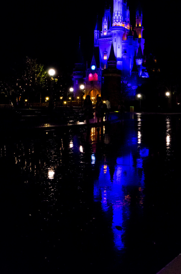 Tokyo Disneyland: Cinderella's Castle at Night