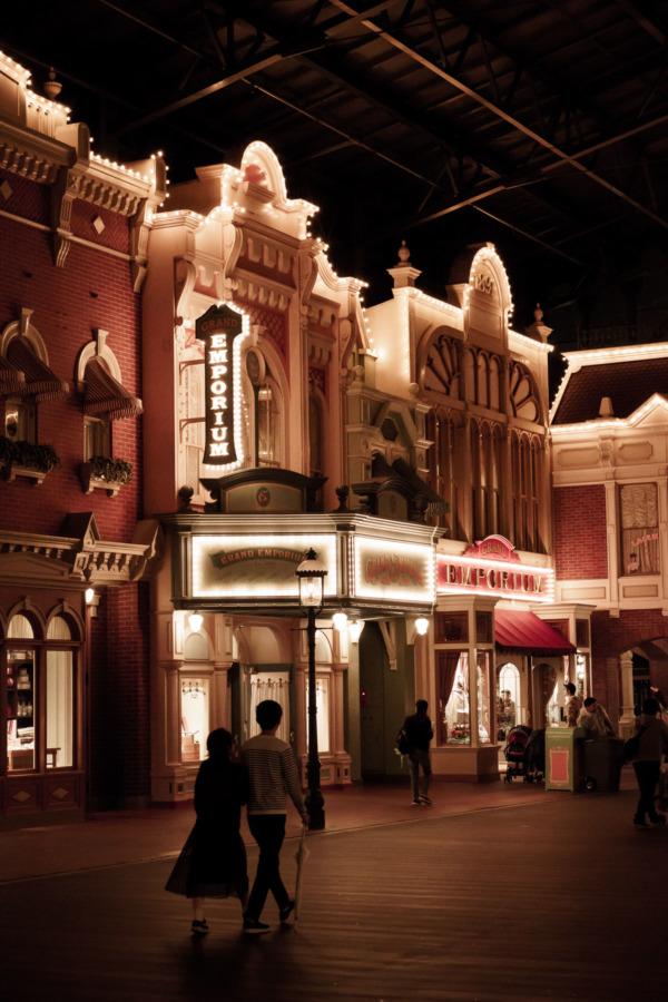 Tokyo Disneyland: Main Street USA at Night