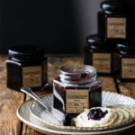 Elderberry Jelly Recipe with Elderflower Syrup and St. Germaine