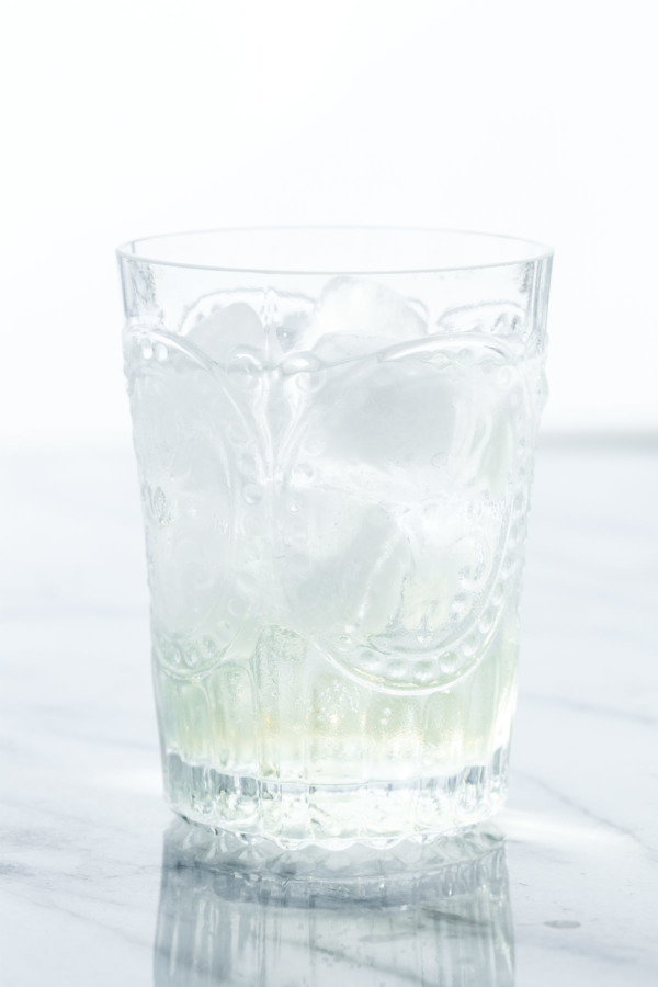 Club soda + Homemade Elderflower Syrup = Delicious, bubbly refreshment.