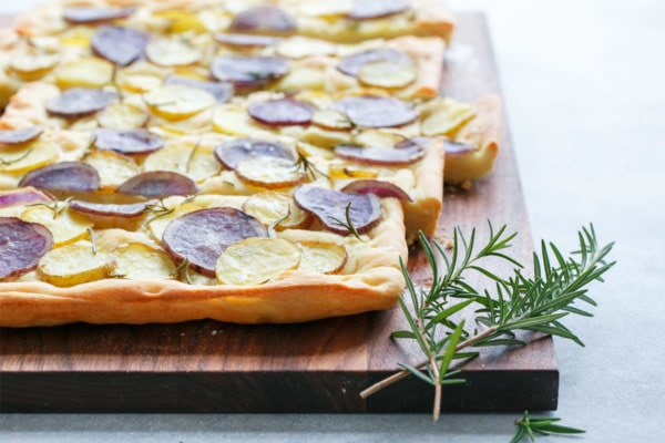 Potato & Rosemary Focaccia Bread
