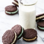 Homemade Oreos 3 Ways: Original, Creme de Menthe, and Cookie Dough