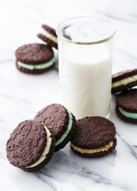 Homemade Oreos 3 Ways: Original, Creme de Menthe, and Cookie Dough