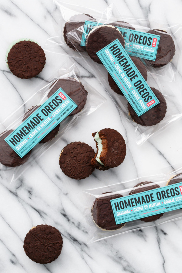 Homemade Oreos are a perfect bake sale recipe!