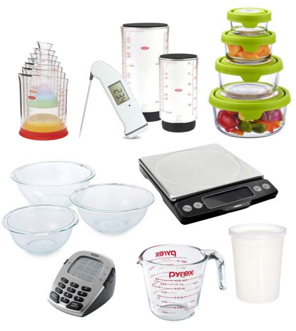 Kitchen Essentials: Mix, Measure & Store