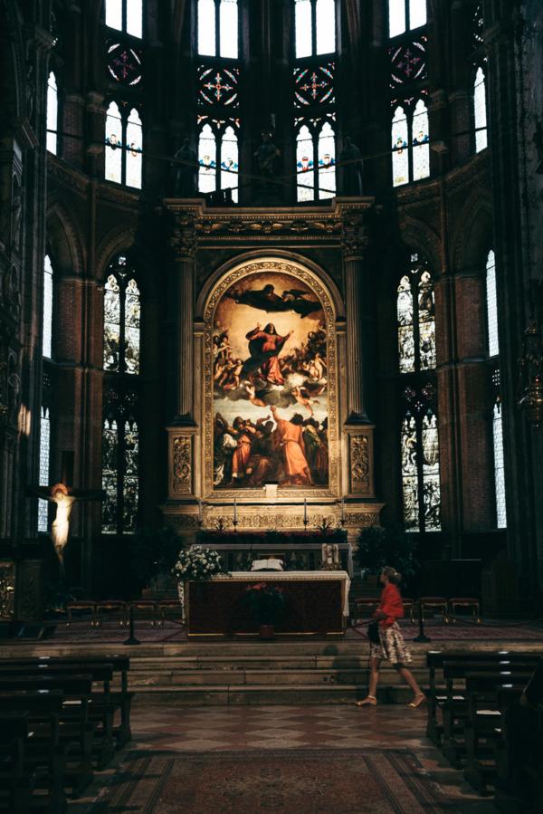 Basilica Santa Maria Gloriosa dei Frari, Venice Italy