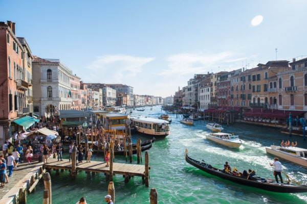 The Grand Canal: Venice, Italy