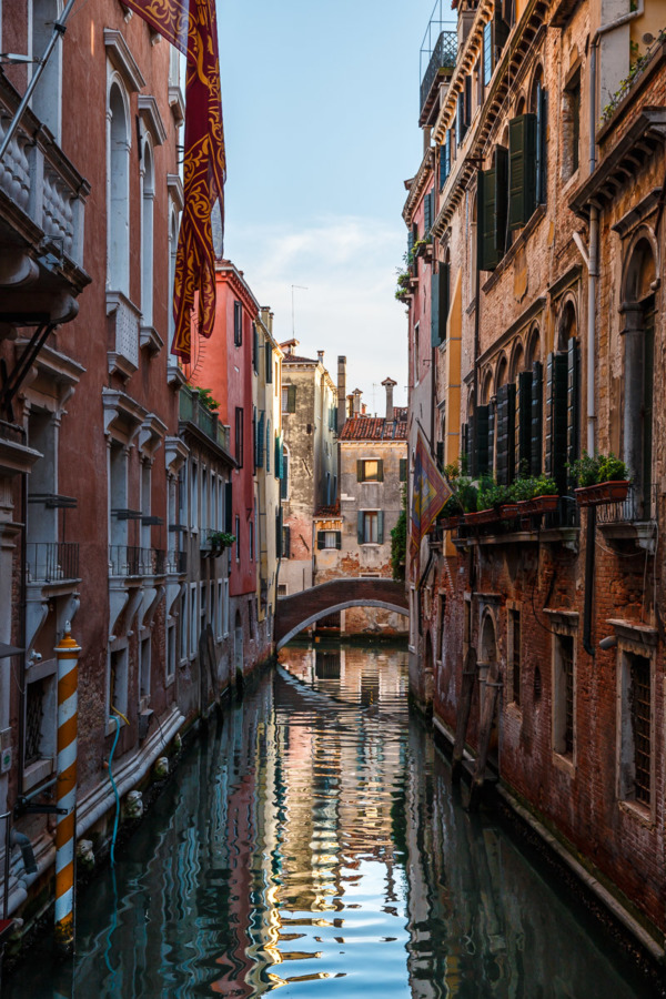 Picture-perfect canal, Venice, Italy