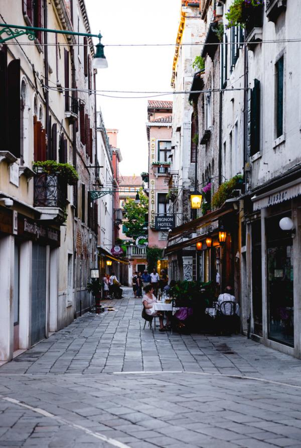 Street scene, Venice, Italy